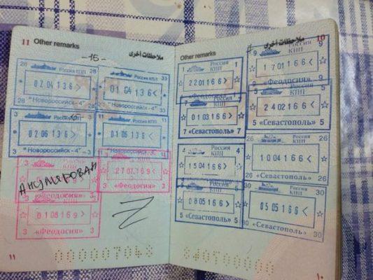 паспорт крым
