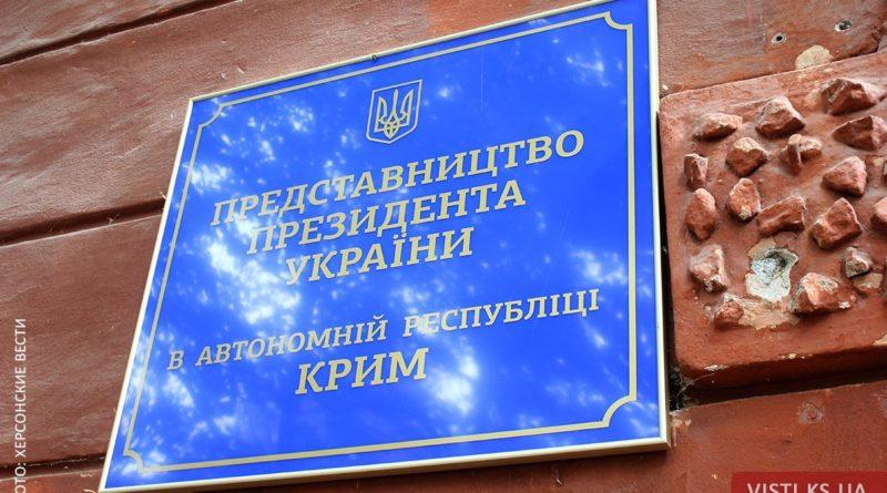 представительство президента в Крыму