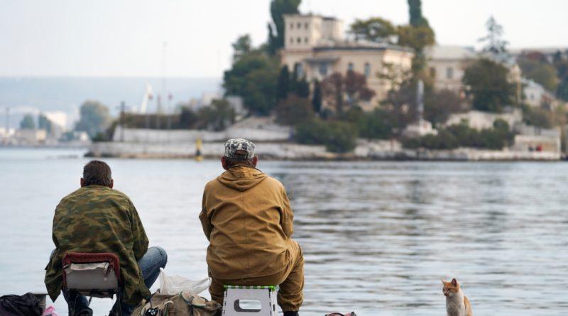 Севастополь рыбаки